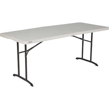 6 Ft Commercial Grade Fold In Half Table With Handle Better 4 You Meals